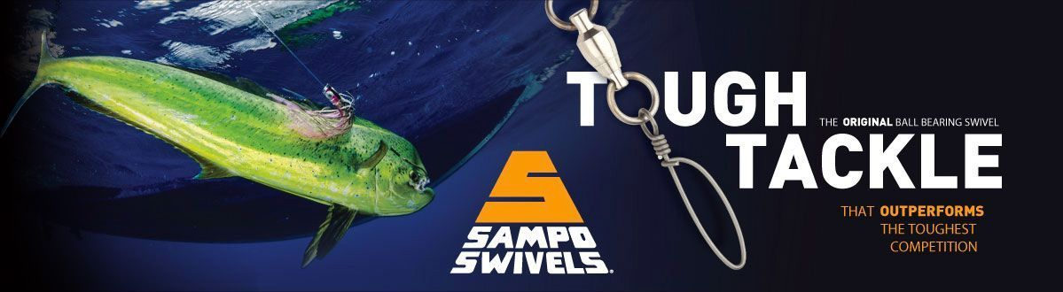 Sampo Swivels Tough Tackle, the ORIGINAL ball bearing swivel that outperforms the competition 2