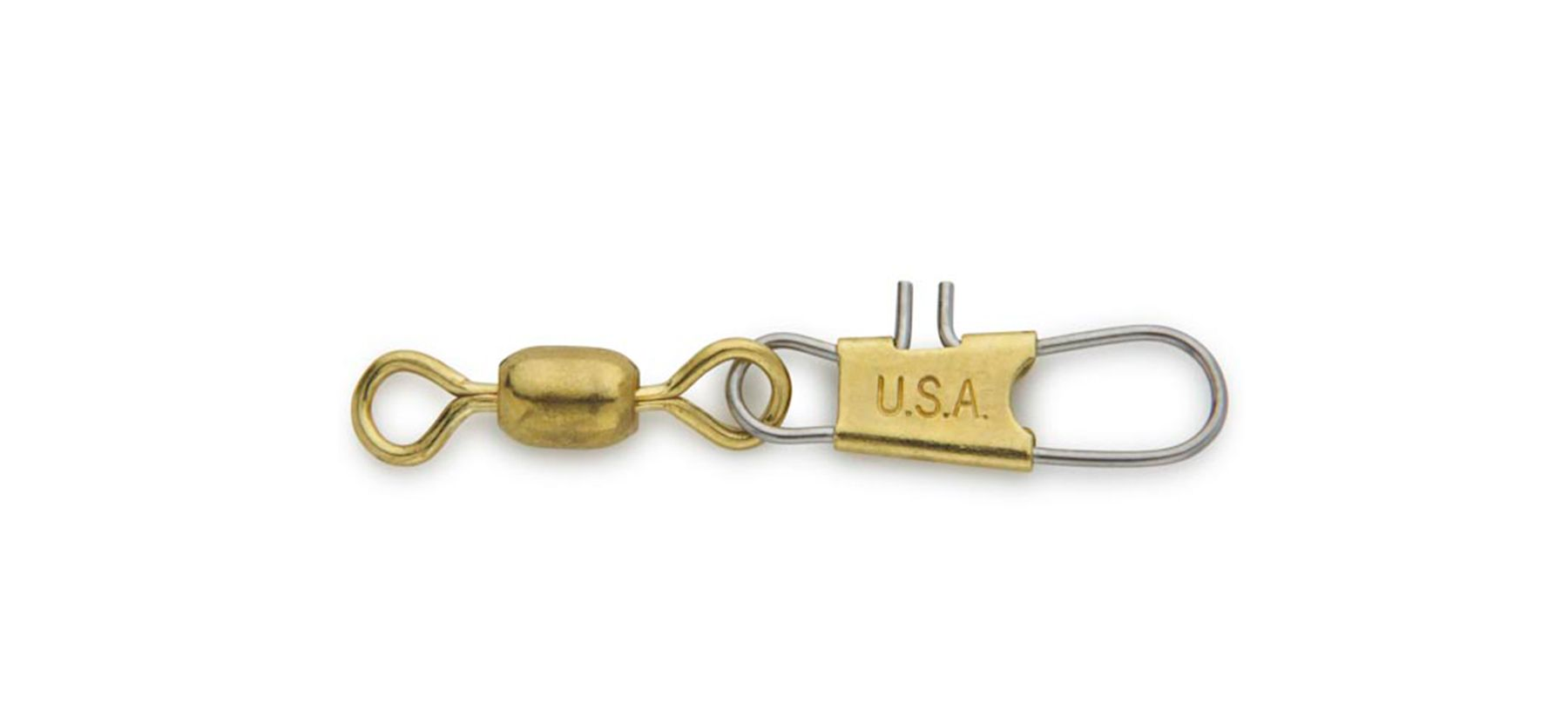 Brass Interlock Snap Swivel -
