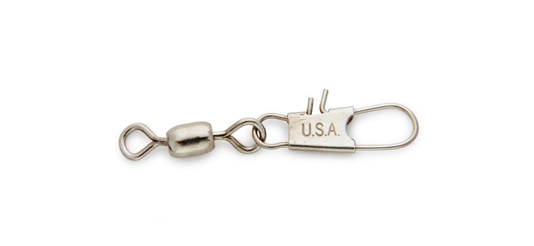 Nickel Interlock Snap Swivel -